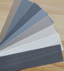 pilihan warna vertical blind