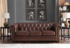 jual sofa kulit asli