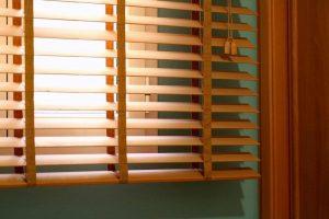 jual wooden blind bekasi