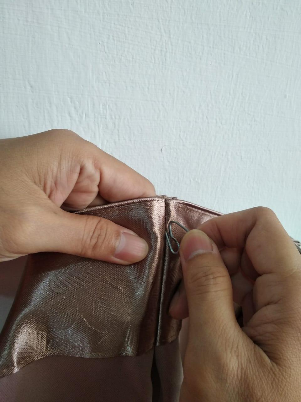 cara memasang kait gorden